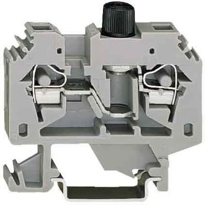 WAGO Kontakttechnik Sicherungsklemme 0,2-6qmm grau 282-122
