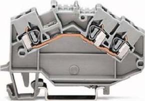 WAGO Kontakttechnik Durchgangsklemme 0,08-2,5mmq grau 780-631