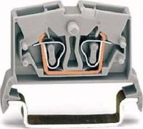 WAGO Kontakttechnik Durchgangsklemme gr 0,08-2,5qmm 264-711