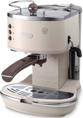 DeLonghi Espressomaschine icona Vintage ECOV 311.BG beige