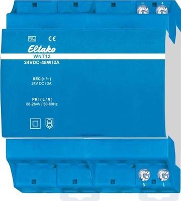 Eltako Weitbereichs-Schaltnetztei l, Weitbereichs-Eing WNT12-24VDC-48W/2A