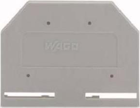 WAGO Kontakttechnik Abschlußplatte grau 281-301