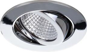 Brumberg Leuchten LED-Einbaustrahler 350mA 3000K chrom 12361023