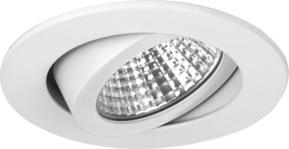 Brumberg Leuchten LED-Einbaustrahler 350mA 3000K weiss 12361073