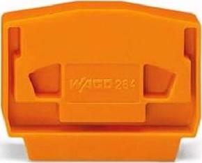 WAGO Kontakttechnik Abschluß-u.Zwischenplatte grau 4mm dick 264-368