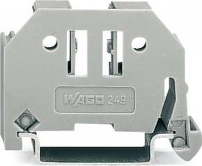 WAGO Kontakttechnik Endklammer 6mm breit grau 249-116