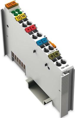 WAGO Kontakttechnik Digitale Eingangsklemme 4-Kanal DC24V 3.0ms 750-402