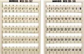 WAGO Kontakttechnik WSB-Bezeichnungssystem W: 1-50(2x) 209-566