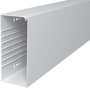 OBO Bettermann Wand+Deckenkanal m.Obert. 100x230mm,PVC WDK100230RW