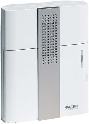 Grothe Elektronik-Gong Batt.4x1,5V, weiß/sil. CROMA 50