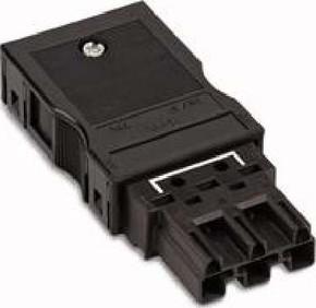 WAGO Kontakttechnik Stecker 2x0,5-4mmq schwarz 770-113