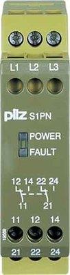 Pilz Phasenfolgeüberwach.relais 400-500VAC 2c/o S1PN #890210