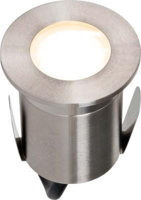EVN Lichttechnik LED-Bodeneinbauleuchte edelstahl 230V 2W ww 652 120