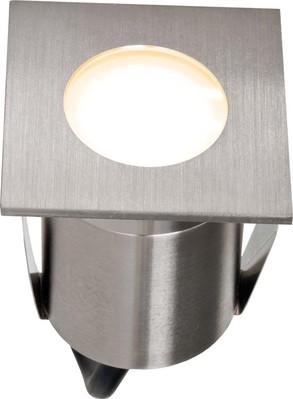 EVN Lichttechnik LED-Bodeneinbauleuchte edelstahl 230V 2W 3000K 654 120