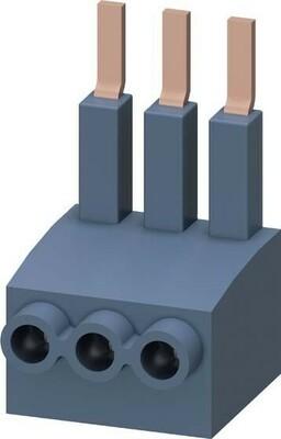 Siemens Indus.Sector Einspeiseklemme 3-phas.Motorstarter 3RM1920-1AA