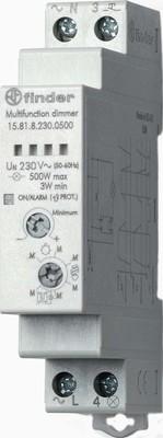 Finder Stromstoss-Schalter/Dimmer 230VAC 15.81.8.230.0500