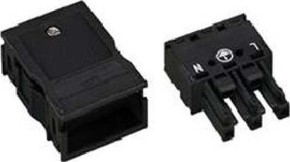 WAGO Kontakttechnik Buchse 2x0,5-4mmq weiß 770-123