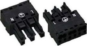 WAGO Kontakttechnik Buchse 2x0,5-4mmq weiß 770-223