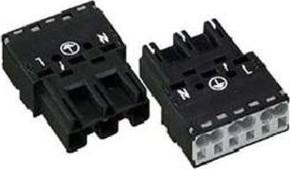 WAGO Kontakttechnik Stecker 2x0,5-4mmq weiß 770-233