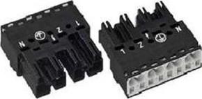 WAGO Kontakttechnik Stecker 2x0,5-4mmq weiß 770-234
