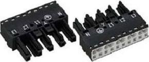 WAGO Kontakttechnik Buchse 2x0,5-4mmq weiß 770-225