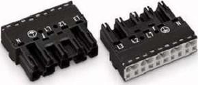WAGO Kontakttechnik Stecker 2x0,5-4mmq schwarz 770-215