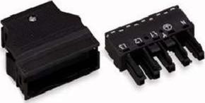 WAGO Kontakttechnik Buchse 0,5-4mmq schwarz 770-305
