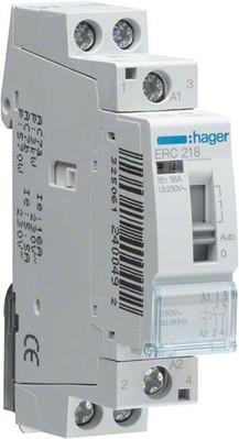 Hager Installationsrelais 16A 1S+1Ö 230V ERC218