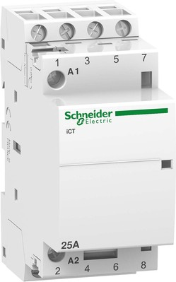 Schneider Electric Installationsschütz 25A 4S 220-240VAC A9C20834