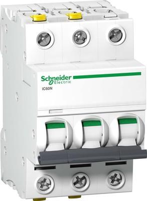 Schneider Electric LS-Schalter 3P 16A B IC60N A9F03316