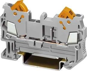 Phoenix Contact Durchgangsklemme 0,25-1,5qmm,grau QTC 1,5