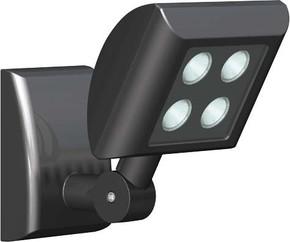 ESYLUX LED-Strahler 12W 5000K OF 120 LED 5K sw