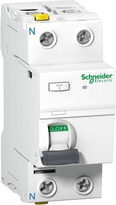 Schneider Electric FI-Schalter 2P 40A 30mA Typ A A9Z21240