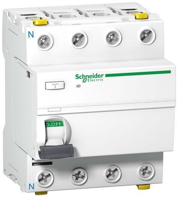 Schneider Electric FI-Schalter 4P 40A 30mA Typ A A9Z21440