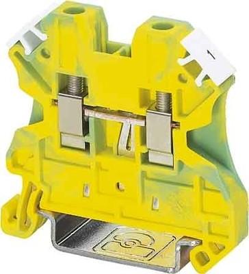 Phoenix Contact Schutzleiterklemme 0,14-6qmm gn-ge UT 4-PE