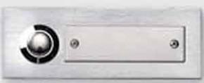 Honeywell Kontaktplatte edelstahl 1-reihig D94/1
