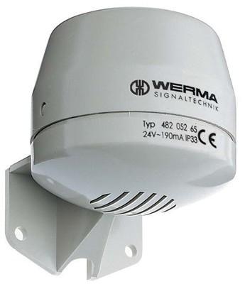 Werma Signalhupe 230V AC gr 482.052.68