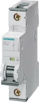 Siemens Indus.Sector LS-Schalter B10A,1pol,T=70,10kA 5SY4110-6