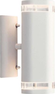 Gnosjö Konstsmide AL Wandleuchte 2x35W weiß 7512-250