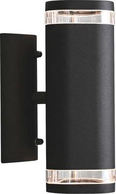 Gnosjö Konstsmide AL Wandleuchte 2x35W schwarz 7512-750