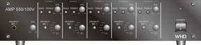 WHD Multikanalverstärker AMP 550/100V,sw AMP550