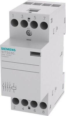 Siemens Indus.Sector Insta-Schütz 4S 230VAC 25A 220VDC 5TT5030-0