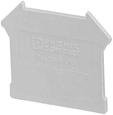 Phoenix Contact Deckel 42,5x1,8x35,9mm gr D-UK 4/10
