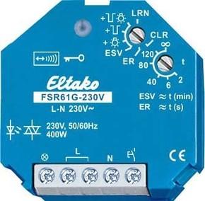 Eltako Stromstoß-Schaltrelais geräuschlos FSR61G-230V