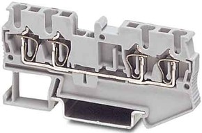 Phoenix Contact Durchgangsklemme 0,08-4qmm B=5,2mm gr ST 2,5-QUATTRO