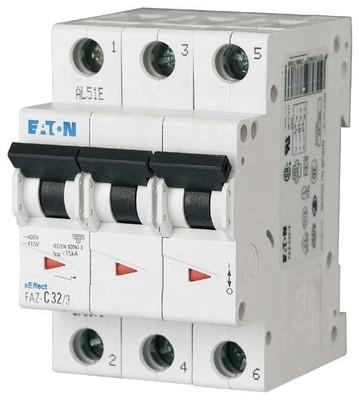 Eaton (Moeller) Leitungsschutzschalter C 16A, 3p FAZ-C16/3