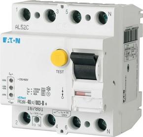 Eaton FI-Schalter 40A 4p 30mA FRCDM-40/4/003-G/B+