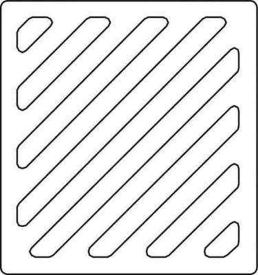 Renz Metallwaren. Sprechgitter Kunststoff 97-9-00092 weiß