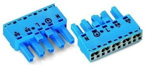 WAGO Kontakttechnik Buchse 5-polig, blau 770-1105