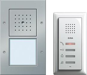 Gira Einfam.haus-Paket Audio aluminium 049543